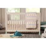 Babyletto Gelato 4-in-1 Convertible Crib - Washed Natural / White