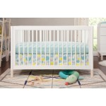 Babyletto Gelato 4-in-1 Convertible Crib - White / Washed Natural