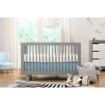 Babyletto Hudson 3-in-1 Convertible Crib - Grey