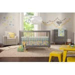 Babyletto Lolly 3-Drawer Changer Dresser - Grey / Washed Natural