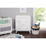 Babyletto Scoot 3-Drawer Changer Dresser - White