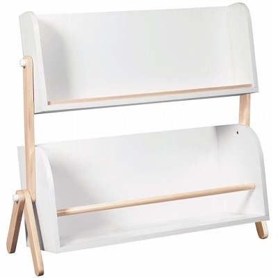 Babyletto Tally Storage and Bookshelf - White / Washed Natural