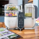 Babymoov Nutribaby+ Food Processor - Loft White