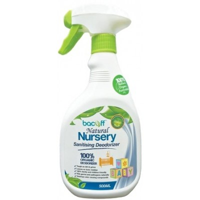 BacOff Nursery Sanitising Deodorizer 500ml