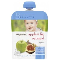 BellamyS Organic Apple Fig & Oatmeal 90G