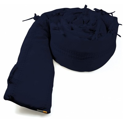 bloom Alma Max US Size Bumper - Navy Blue 100% Organic Cotton