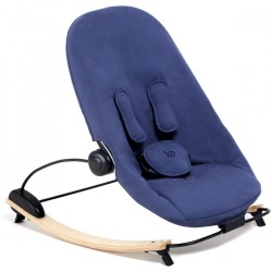 Bloom Coco Go Seat Pad - Navy Blue Organic (Seat Pad Only)