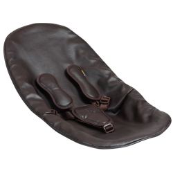 Bloom Coco Seat Pad with Harnesses In Gift Box - Henna Brown Leatherette