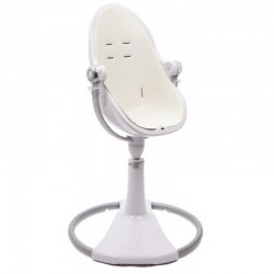 Bloom Fresco Chrome Contemporary Baby Chair (Frame Only) - White
