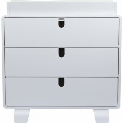 Bloom Retro Dresser - White Frame W/Coconut..