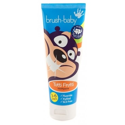 Brushbaby Children Toothpaste (3-6yrs) - Tutti Frutti 50ml