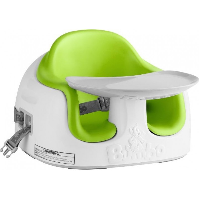 Bumbo 2 In 1 Multi Seat Play Tray Booster Seat Lime