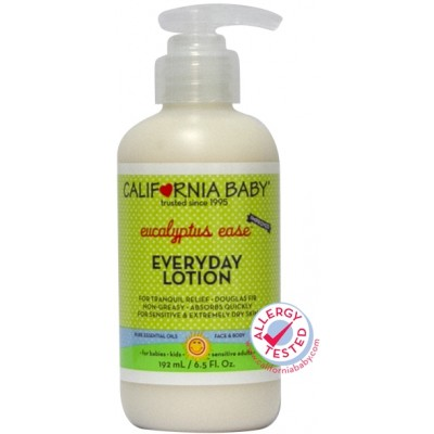 California Baby Eucalyptus Ease Everyday Lotion 192 ml/6.5oz