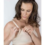 Cantaloop Nursing Bra with Foam Cups (Tan)