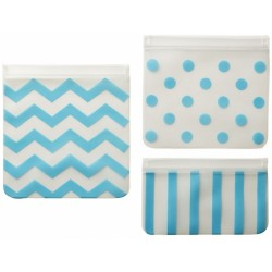 Childress Reusable Food Bags (3 pack) - Blu..