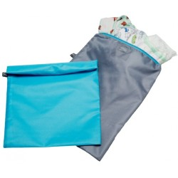 Childress Wet-To-Go Wet Bags 2-Pack - Grey/..