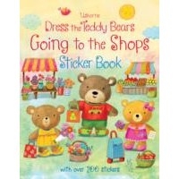 Usborne Dress the Teddy Bears Going to the Shops Sticker Book