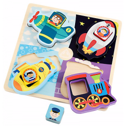 ELC Chunky Vehicles Puzzle