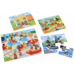 ELC Happyland 4 In A Box Puzzle