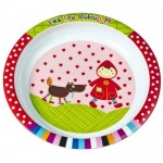 Ebulobo Melamine Set - Red Riding Hood