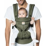 Ergobaby All-In-One OMNI 360 Baby Carrier - Cool Air Mesh - Khaki Green