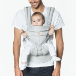 Ergobaby All-In-One OMNI 360 Baby Carrier - Cool Air Mesh - Pearl Grey