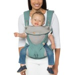Ergobaby All Position 360 Baby Carrier - Cool Air Mesh - Icy Mint