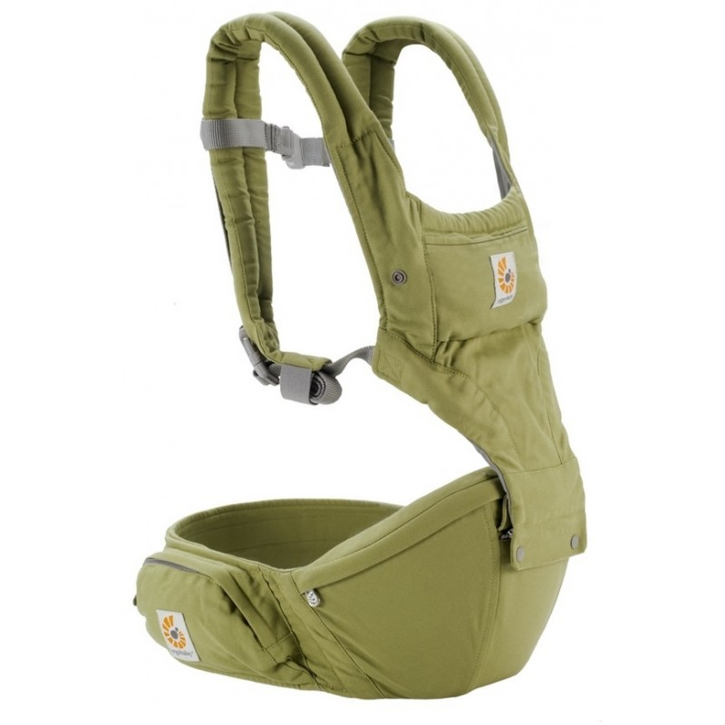Ergobaby Hipseat 6 Position Carrier Green