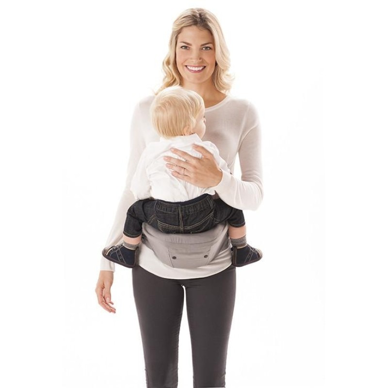 Ergobaby Hipseat 6 Position Carrier Galaxy Grey Baby