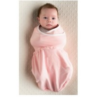 Ergobaby Sleep Tight Swaddler - Pink + Natural