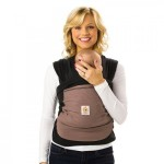 Ergobaby Wrap - Pepper (Black Wrap with Taupe Pocket)