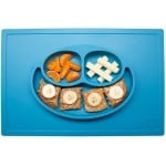 Ezpz Happy Mat Plate & Placemat - Blue