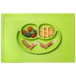 Ezpz Happy Mat Plate & Placemat - Lime