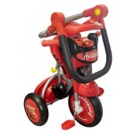 Baby Star Disney Cars Foldable Tricycle (with Push Handle and Guard)