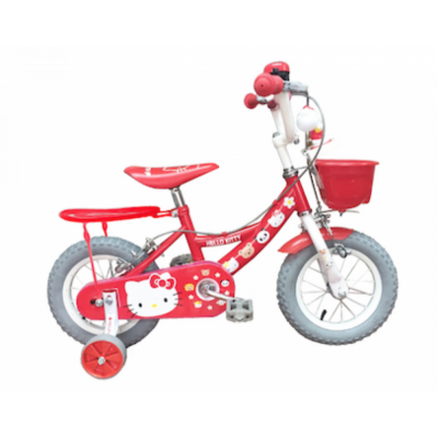 """Fisher-Price Hello Kitty 12"""" Air Tyre Bicycle"""