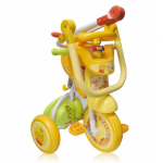 Baby Star Disney Winnie the Pooh Foldable Tricycle (with Push Handle and Guard)