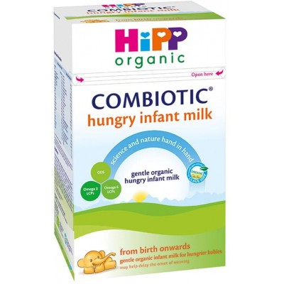 HiPP (UK) Organic Combiotic Hungry Infant Milk (From Birth Onwards) 800g