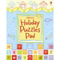 Usborne Holiday Puzzle Pad