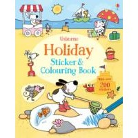 Usborne Holiday Sticker and Colouring Book