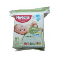 Huggies Natural Care Baby Wipes - Softer for Sensitive Skin - 184 wipes