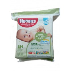 Huggies Natural Care Baby Wipes - Softer fo..