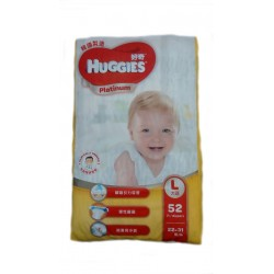 Huggies Platinum L (52 pcs)