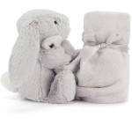 Jellycat Bashful Silver Bunny Soother
