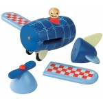 Janod Airplane Magnet Kit