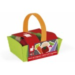 Janod Fabric Basket With 8 Vegetables