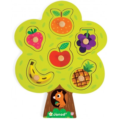 Janod Fruit Tree Puzzle