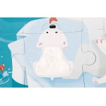 Janod Tactile Puzzle - Life On The Ice (20 Pieces)