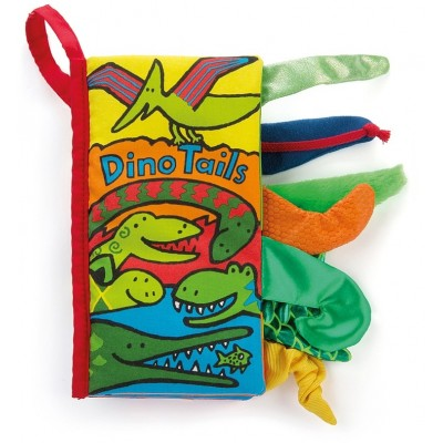 Jellycat Book Dino Tails