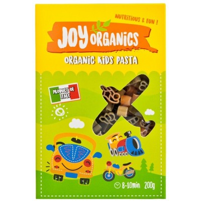 Joy Organics Organic Veg Kids Pasta 200g - Travel