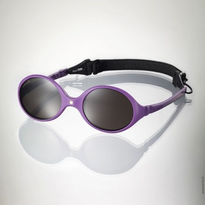 Ki ET LA Baby Sunglasses Diabola (0-18 months) - 2 sizes in 1 - Purple